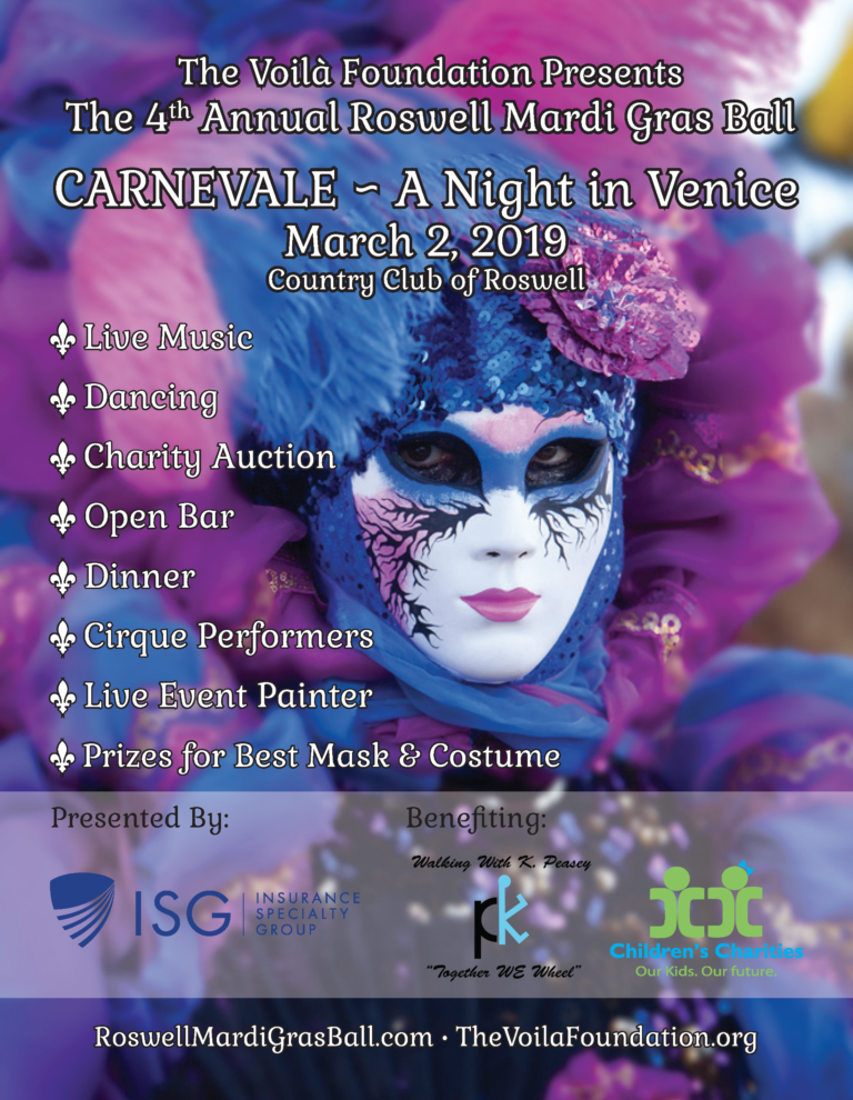CARNEVALE ~ A Night In Venice!