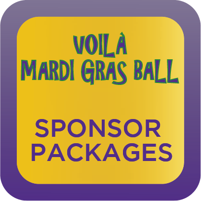 Voilà Mardi Gras Ball Sponsor Packages
