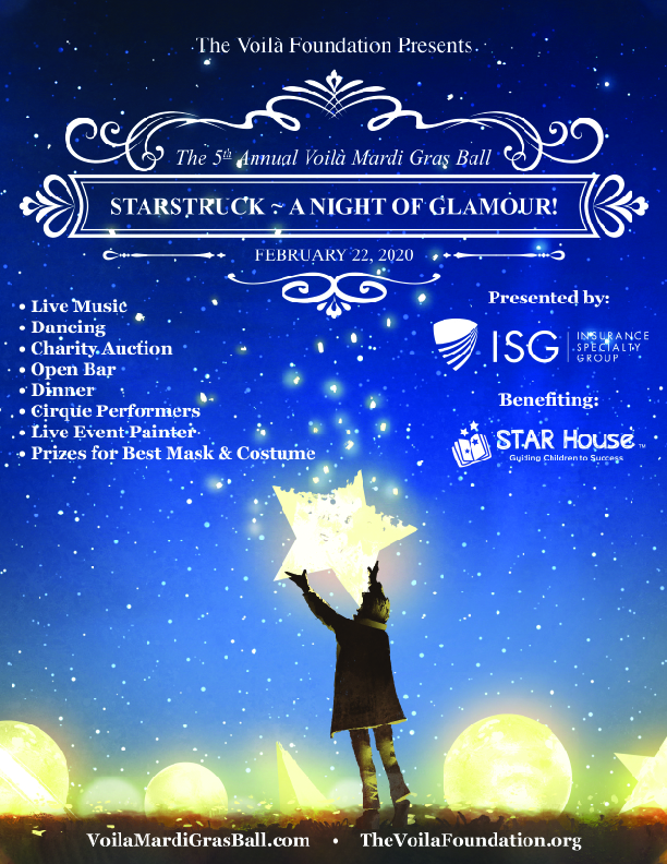 STARSTRUCK ~ A Night of Glamour!